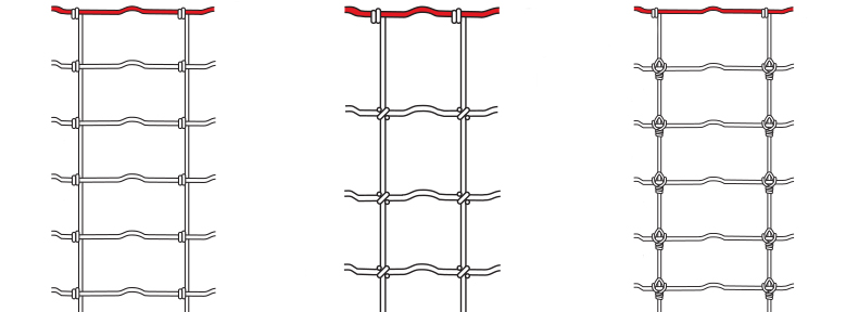fence knot diagrams