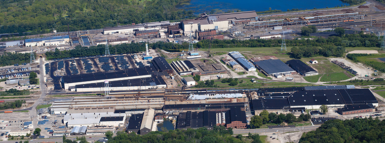 keystone_steel_arial_photo