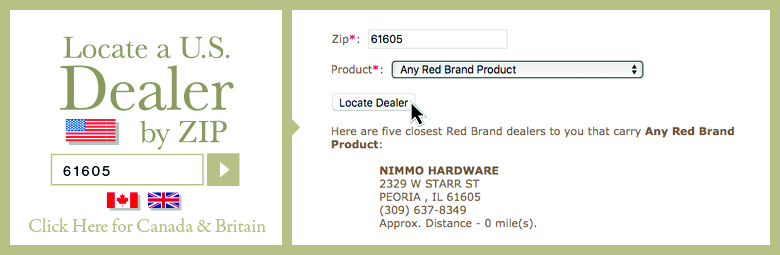 Red Brand Dealer Locator