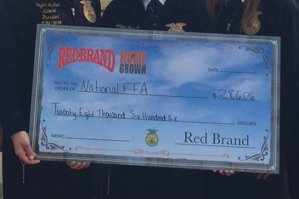 Home Grown provides checks for FFA