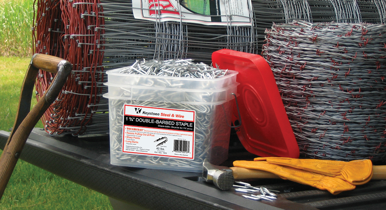 Red Brand Bucket of Staples