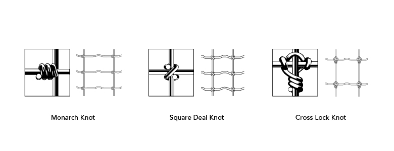 Red Brand Field Fence Knots