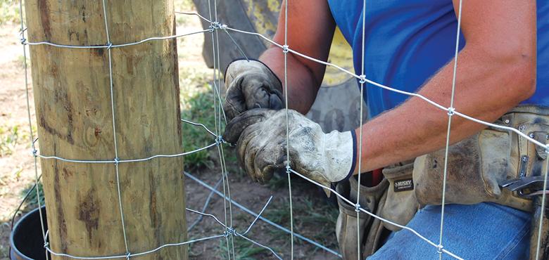 Installing Fence